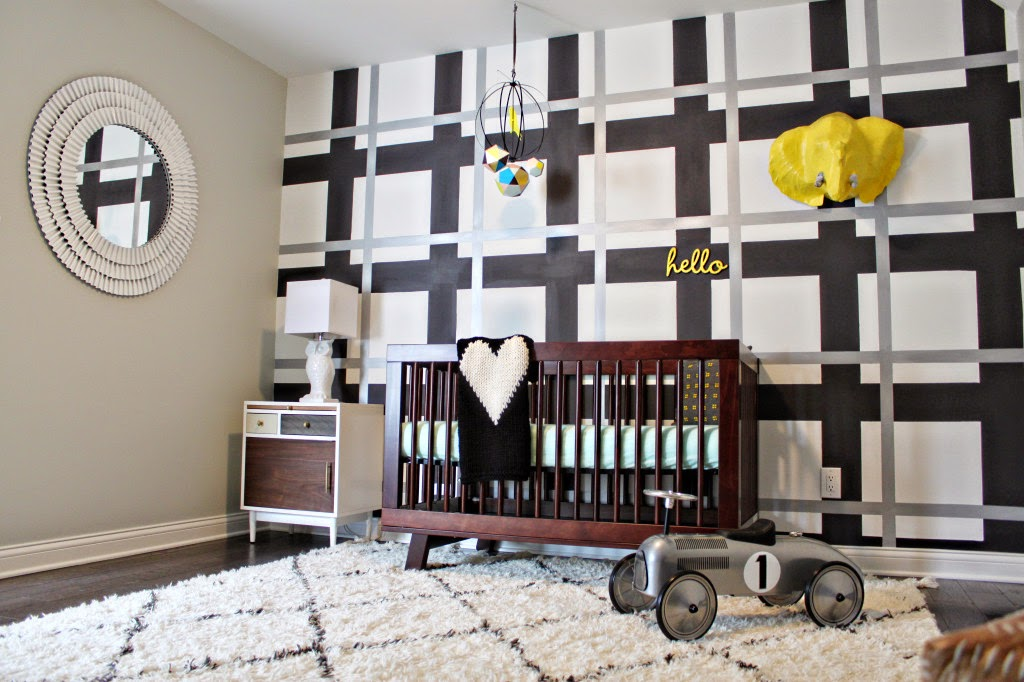 Decorating Cents Accent Walls In Nurseries