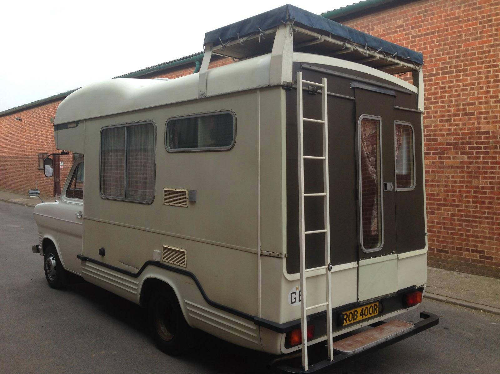 Used Rvs 1977 Ford Transit Mk1 Camper Motorhome For Sale