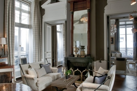 Paris Apartment Style Interior Decorating