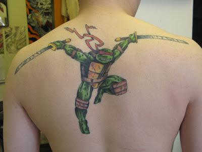 Tatuaje de Raphael (Tortugas Ninja)