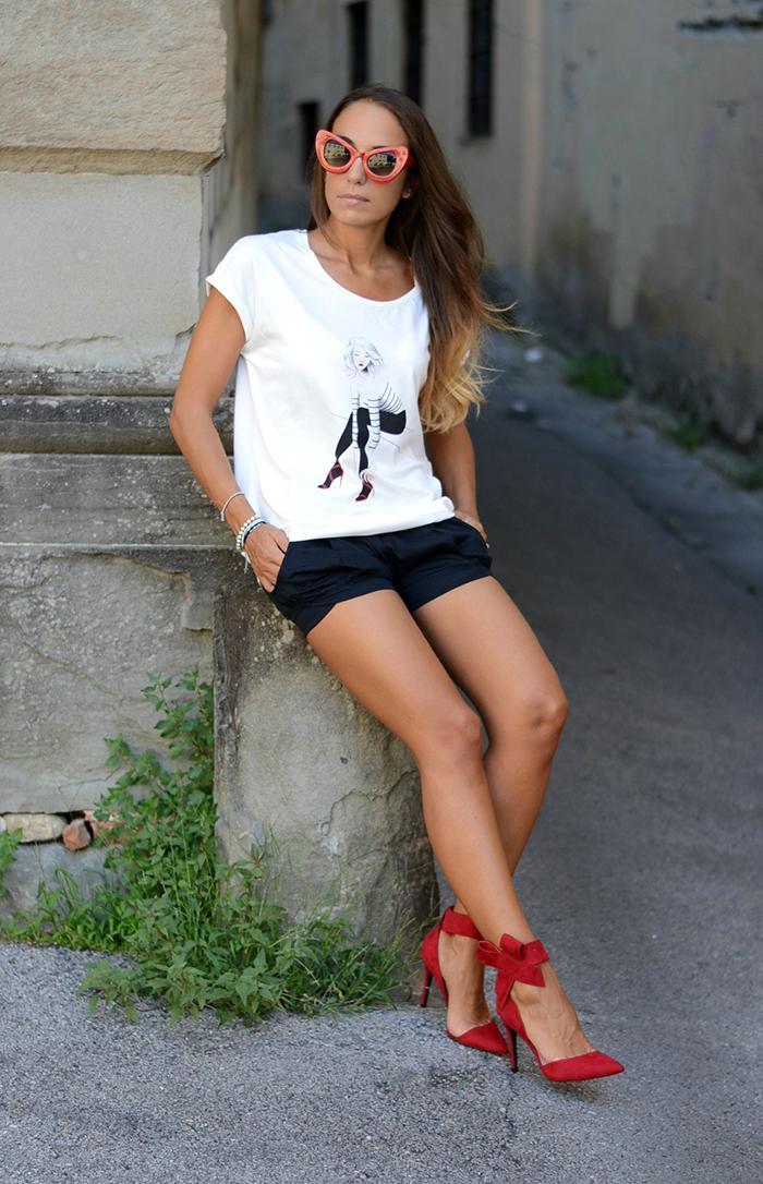 look stile parigino