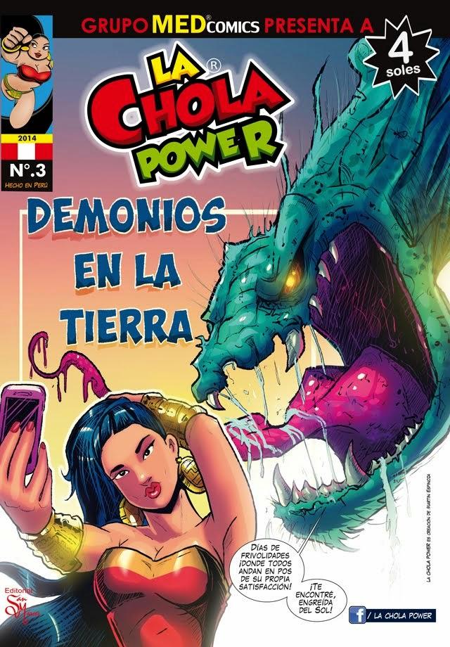 OCTUBRE 2014 N.3 LA CHOLA POWER/ KIOSCOS