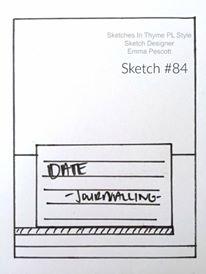 Sketch #84 August 22-31