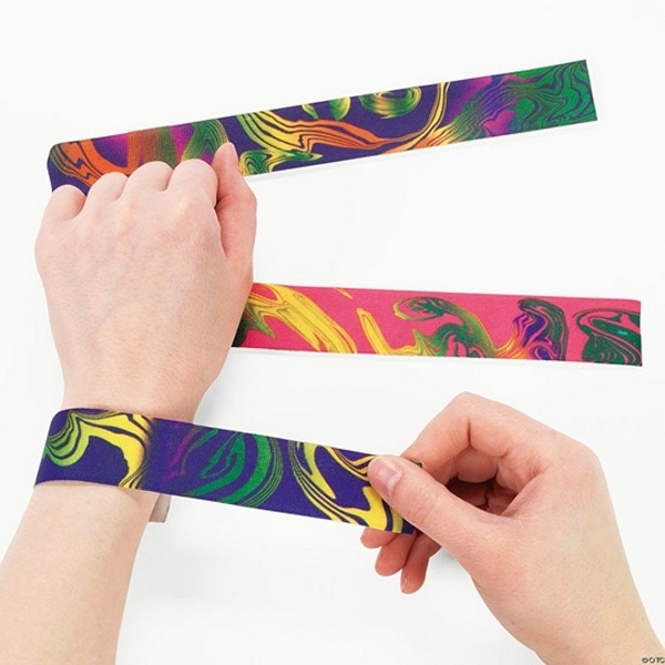 Slap bracelets
