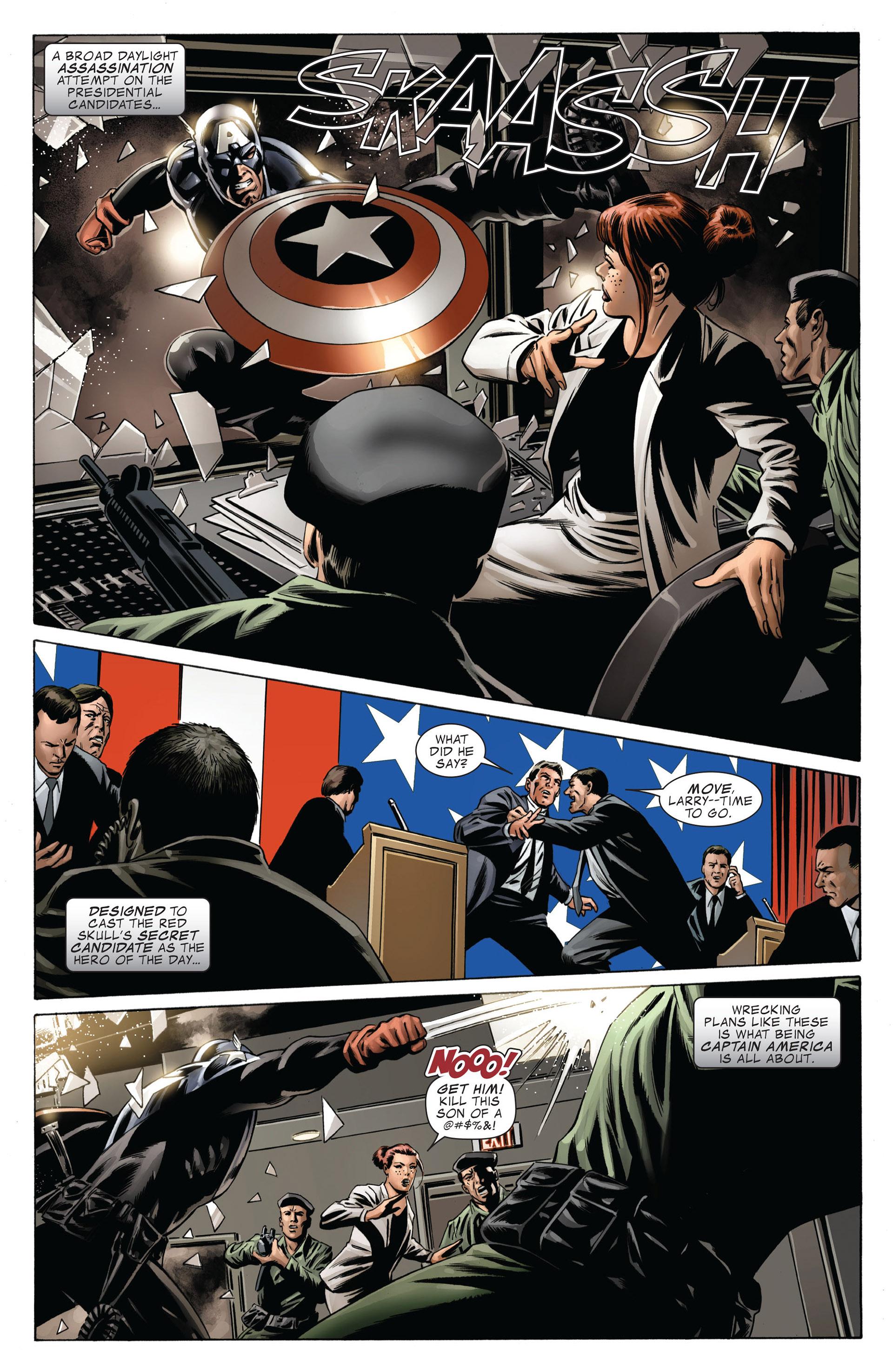 Captain America (2005) Issue #42 #42 - English 3