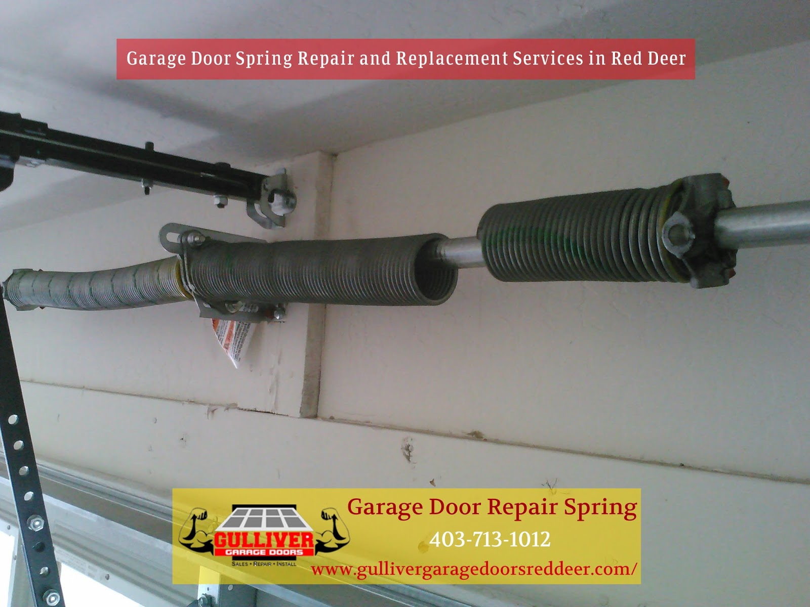 Garage door repair red deer do you have a broken garage door do you have a broken garage door spring in red deer rubansaba