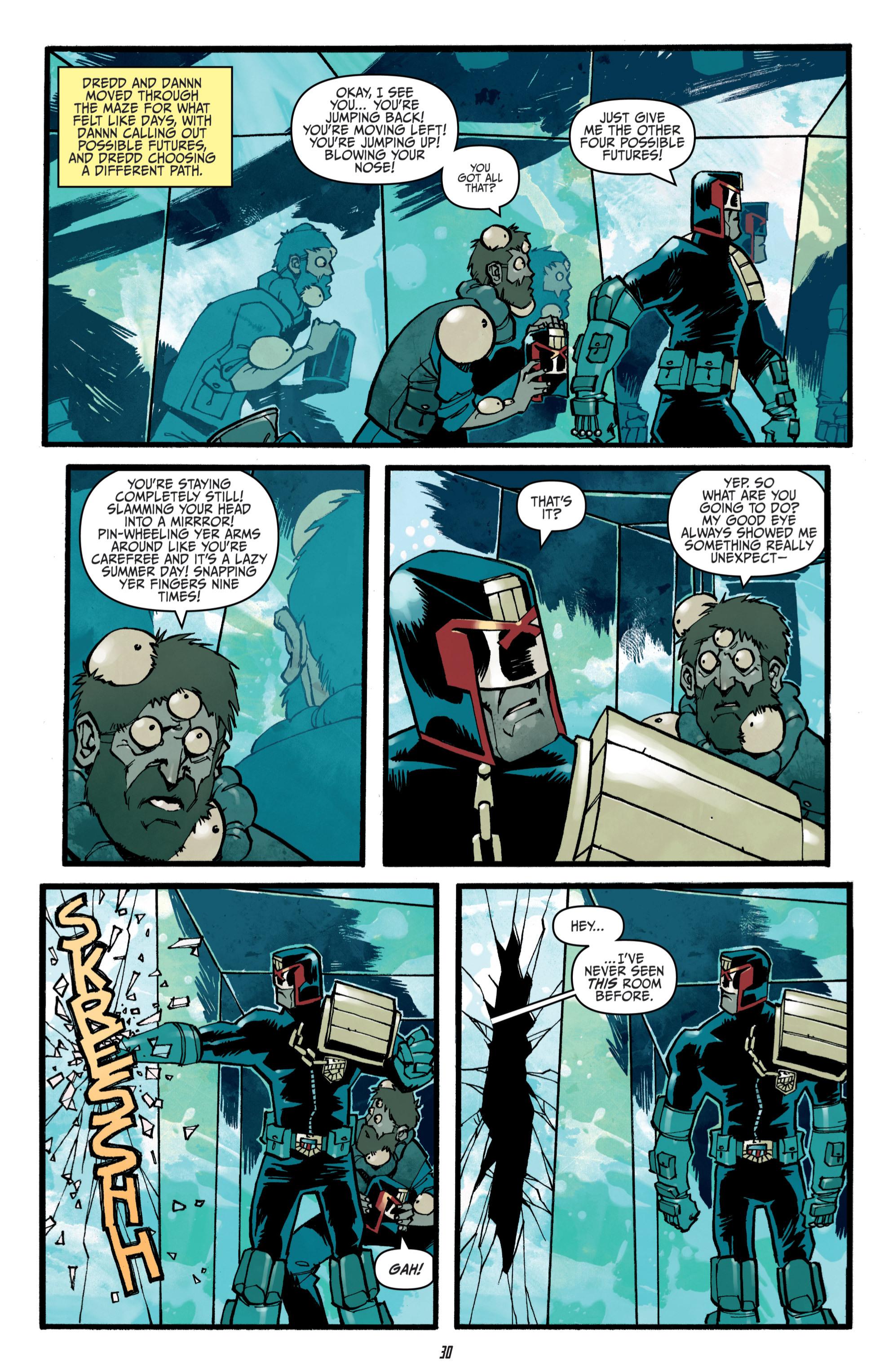 Read online Judge Dredd (2012) comic -  Issue # _TPB 3 - 30