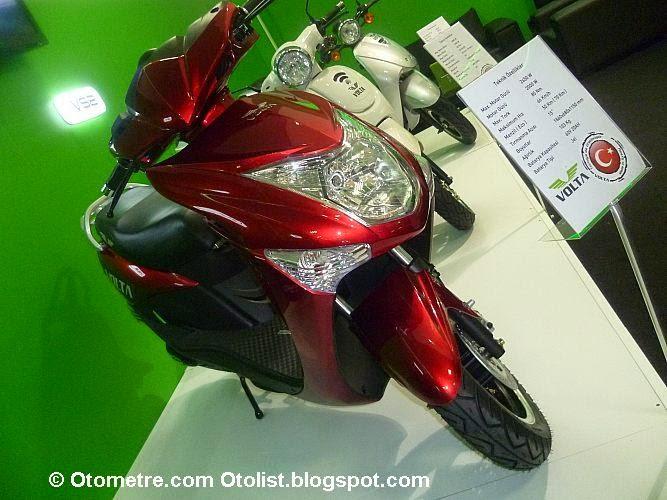 Volta atın elektrikli motosiklete binin!