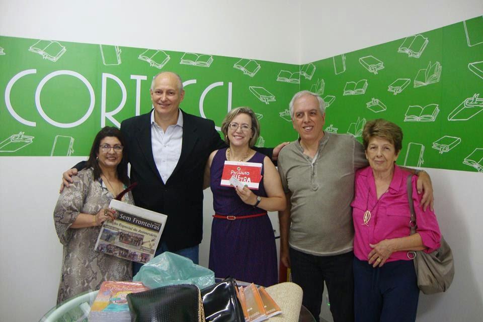 Na comemoração dos 4 anos do selo PINGO DE LETRA, da Ed. Scortecci