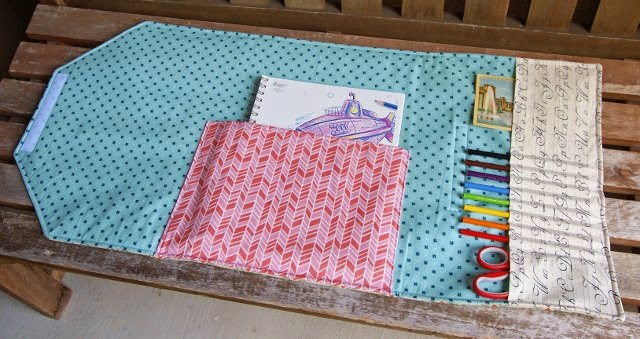 Envelope Clutch by Heidi Staples from Sew Organized for the Busy Girl