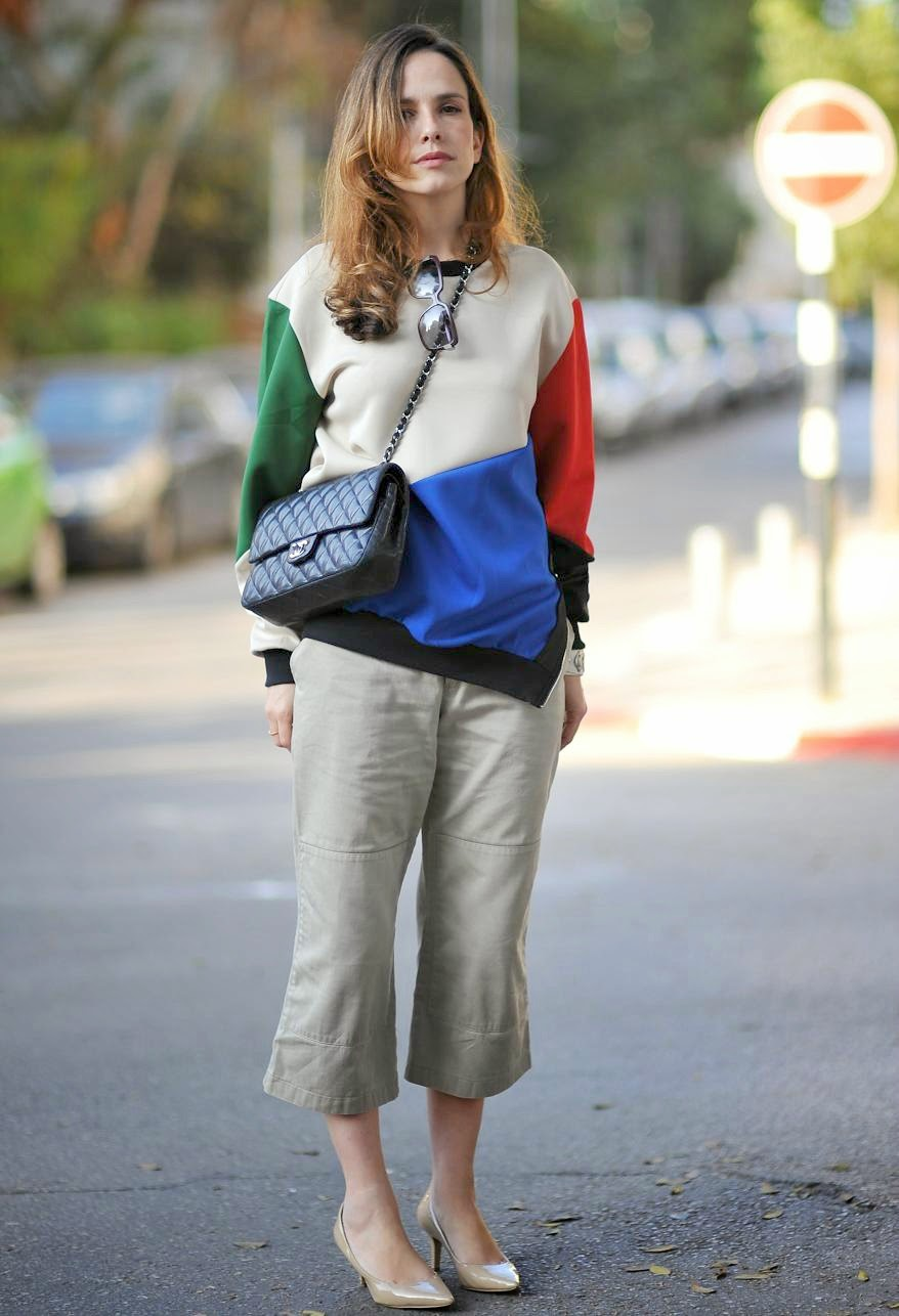 street-style, inspiration, iconic, trends, capri wide pants, fashion-blog, fashionable, chanel, בלוג-אופנה, שאנל, שבוע אופנה, השראה