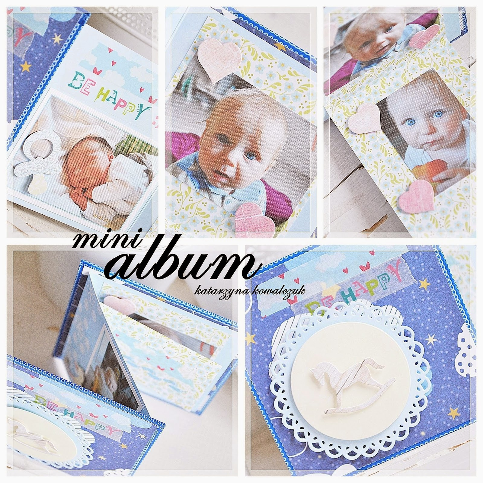 mini album scrapbooking