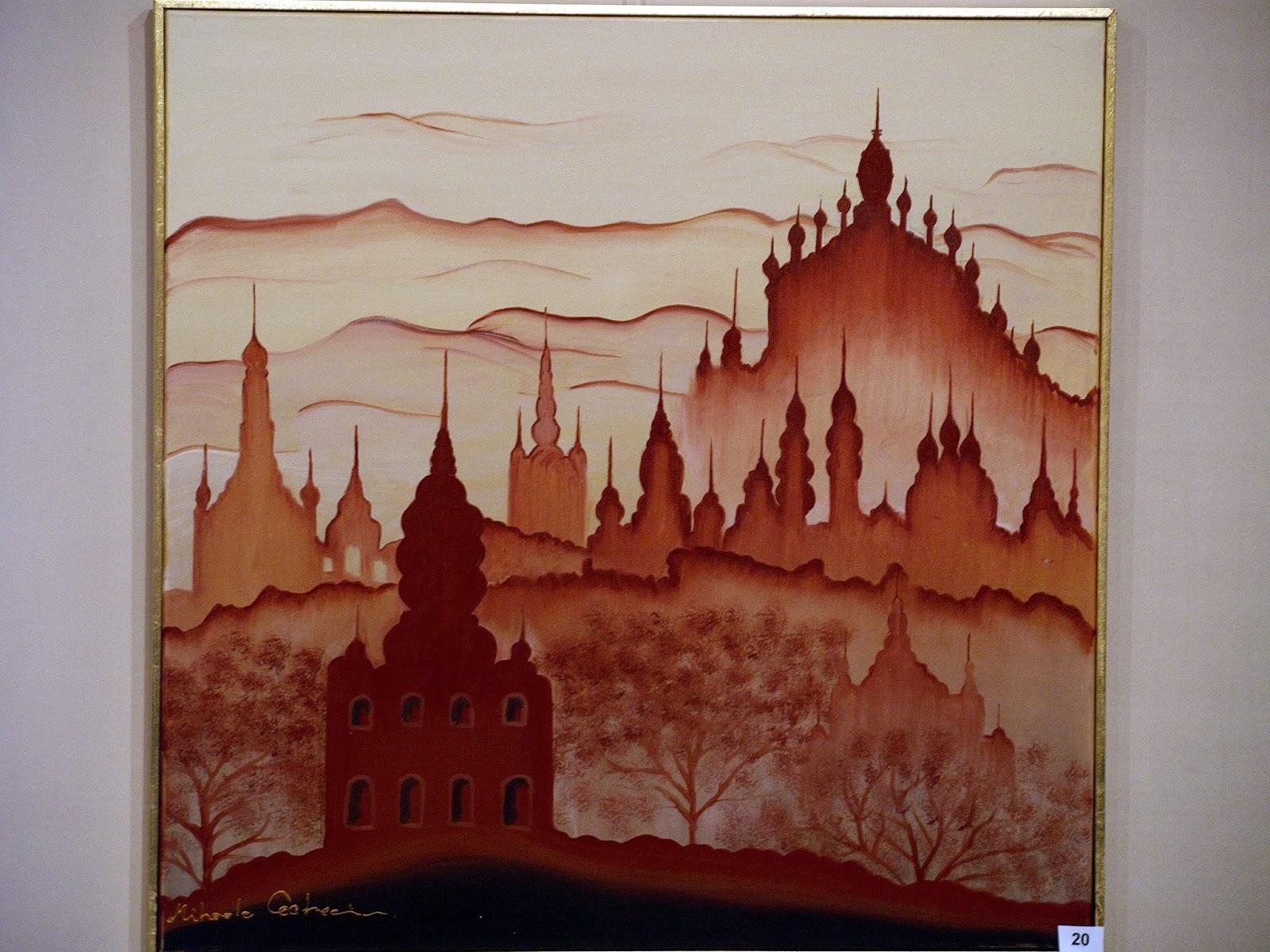 Expozitie de pictura Mihaela Cocheci