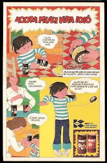 achocolatado Muki - Kibon; chocolate Kibon;  os anos 70; propaganda na década de 70; Brazil in the 70s, história anos 70; Oswaldo Hernandez;
