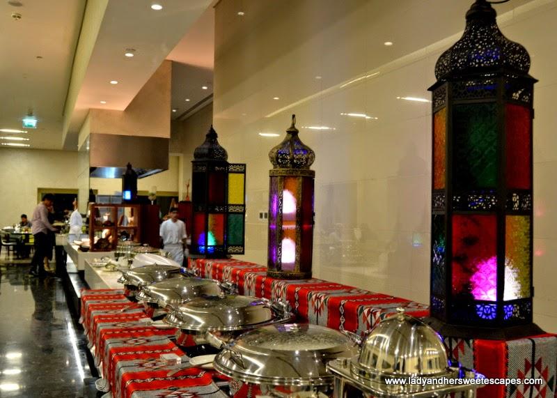 Arabic Cuisine at Metro! Millennium Plaza Hotel Dubai
