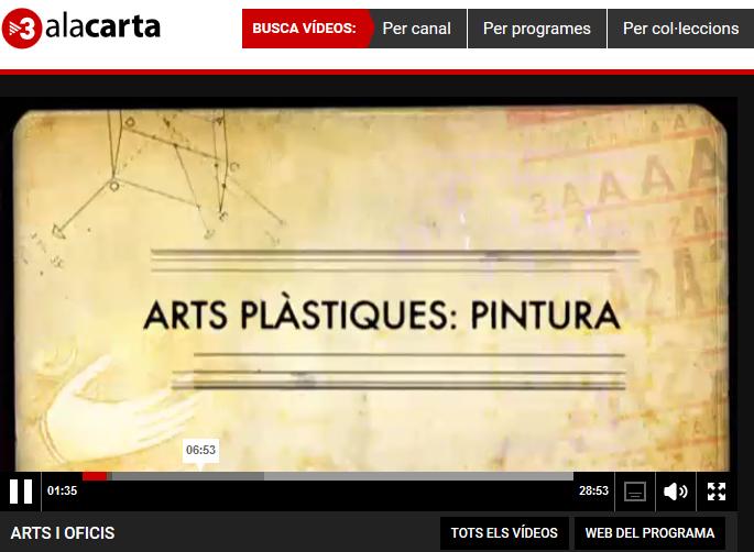 Arts plàstiques: pintura