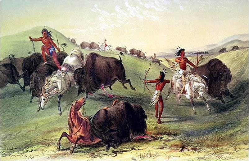 Mierda orina nativos americanos