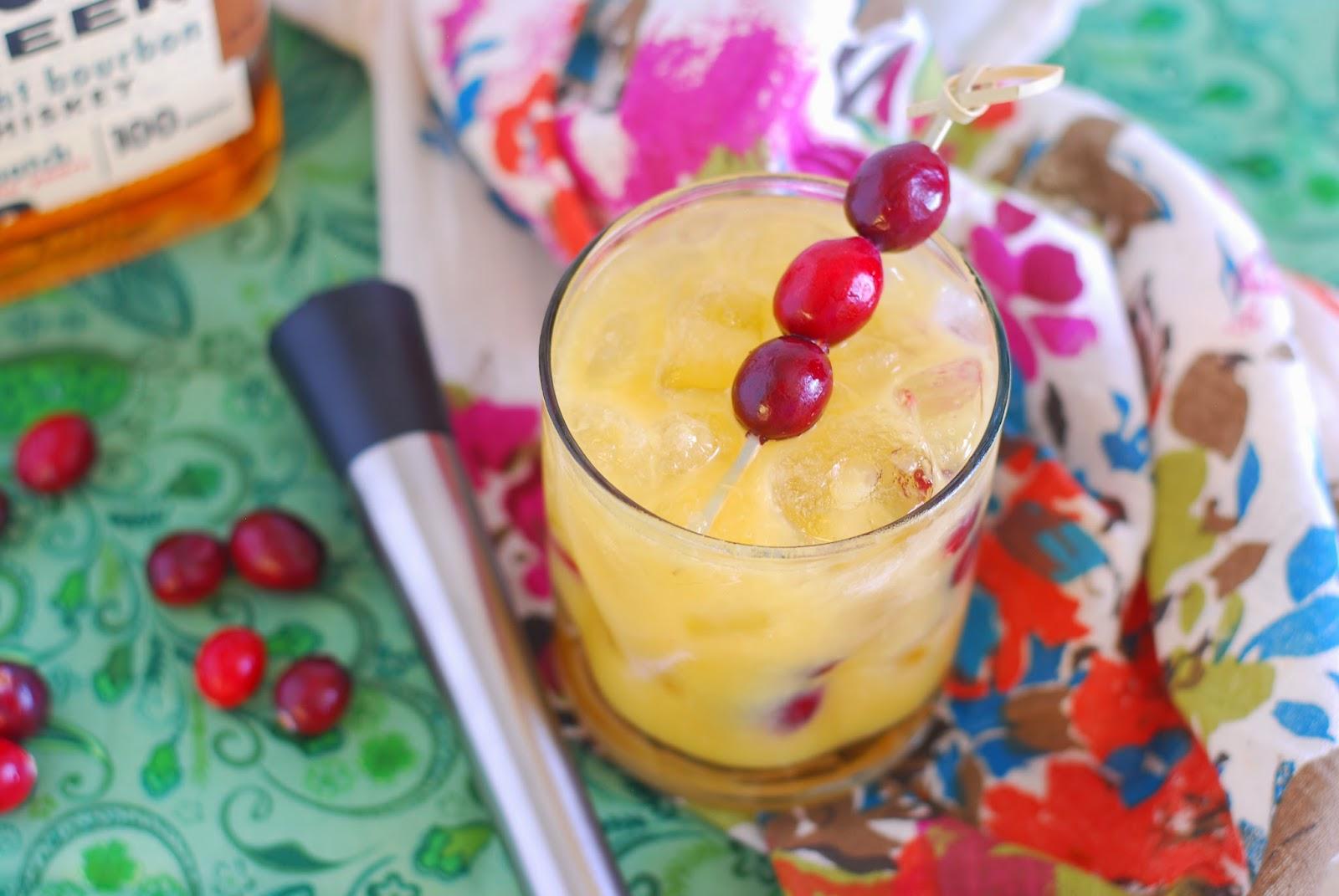 Call Me Fudge Happy Hour Muddled Cranberry Orange Old