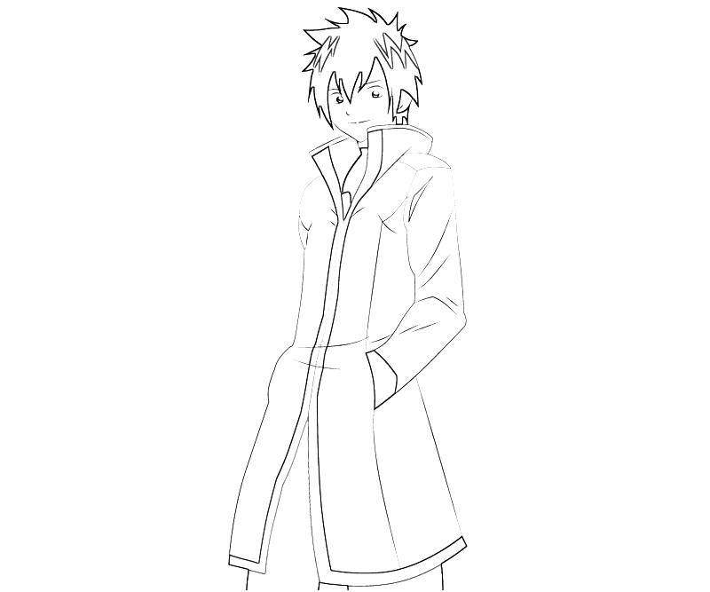 action anime coloring pages - photo#11