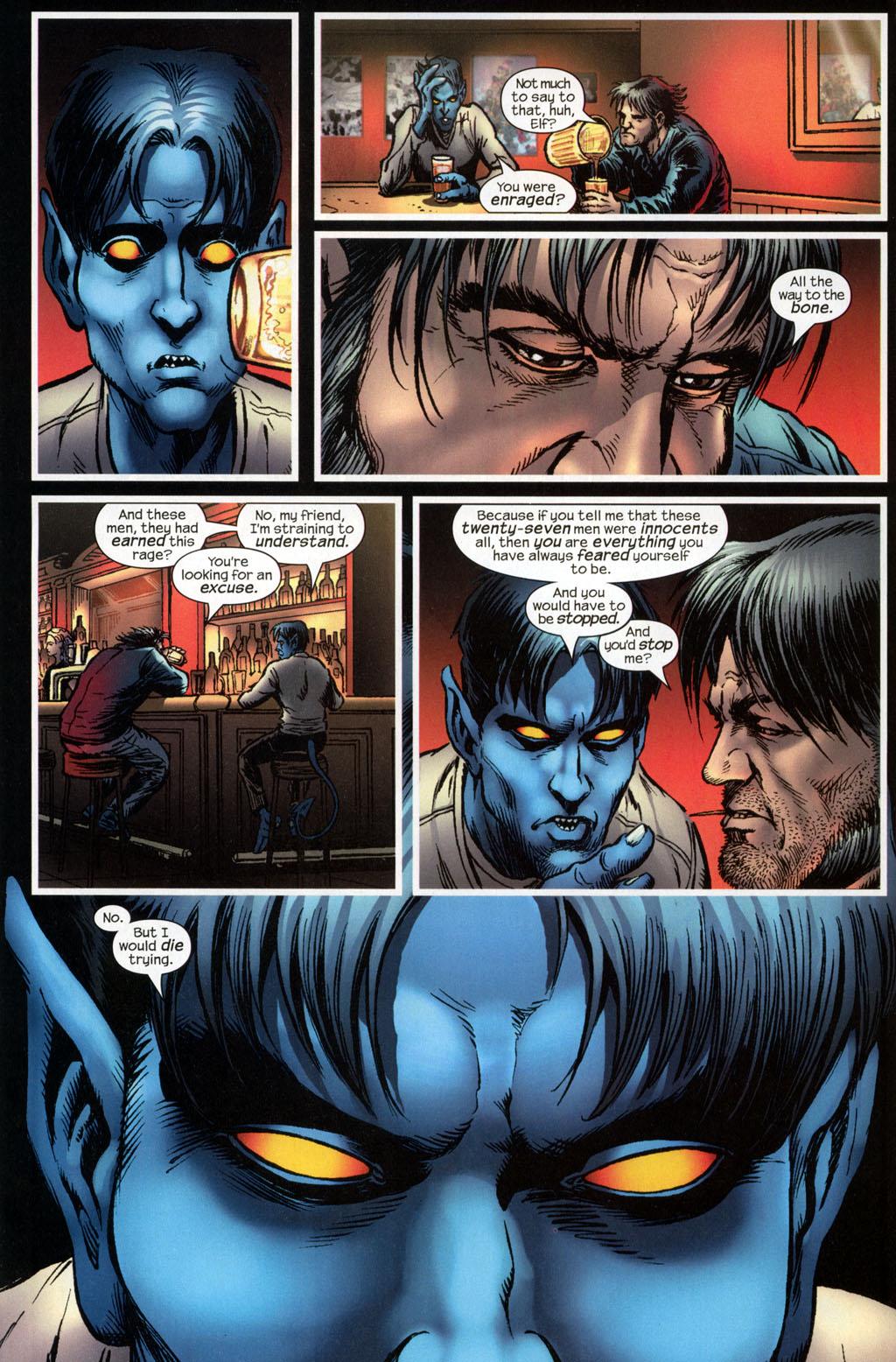 Read online Wolverine (2003) comic -  Issue #6 - 19