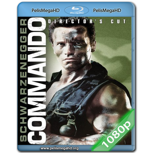 COMMANDO (1985) FULL 1080P HD MKV ESPAÑOL LATINO
