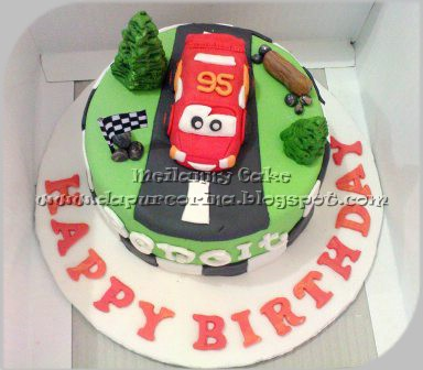 Kue%20Ulang%20Tahun%20Anak%20tema%20Cars cara membuat kue ulang tahun ...