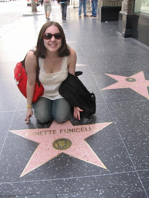 Hollywood Walk of Fame, Los Angeles, LA, L.A., Jamie Allison Sanders, Annette Funicello walk of fame star, Walt Disney's Mickey Mouse Club, travel, Throwback Thursday, #tbt, #ThrowbackThursday