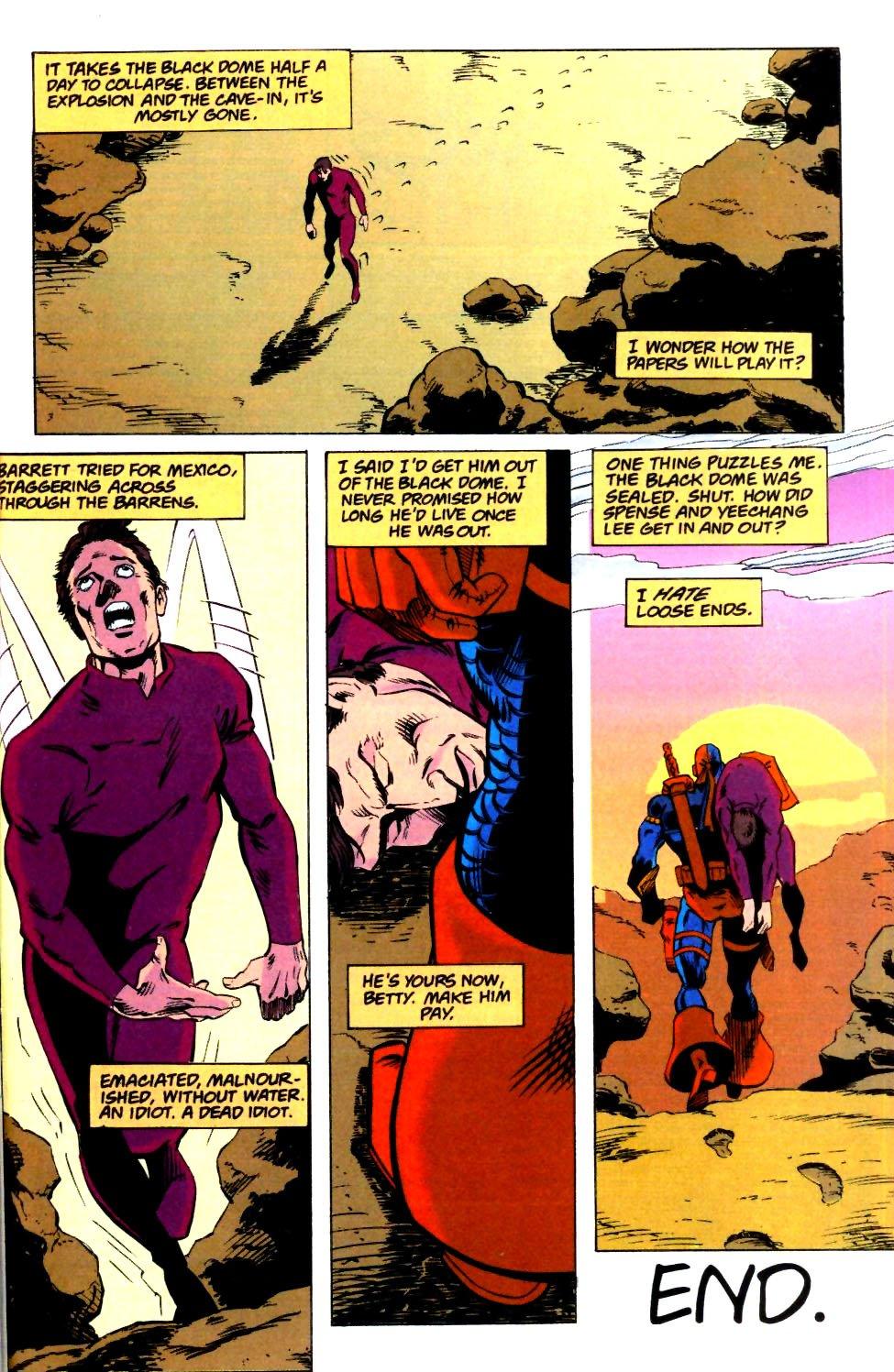 Deathstroke (1991) Issue #25 #30 - English 26