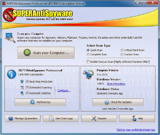 Download SUPERAntiSpyware Pro 5.7.1010 Final Including Key