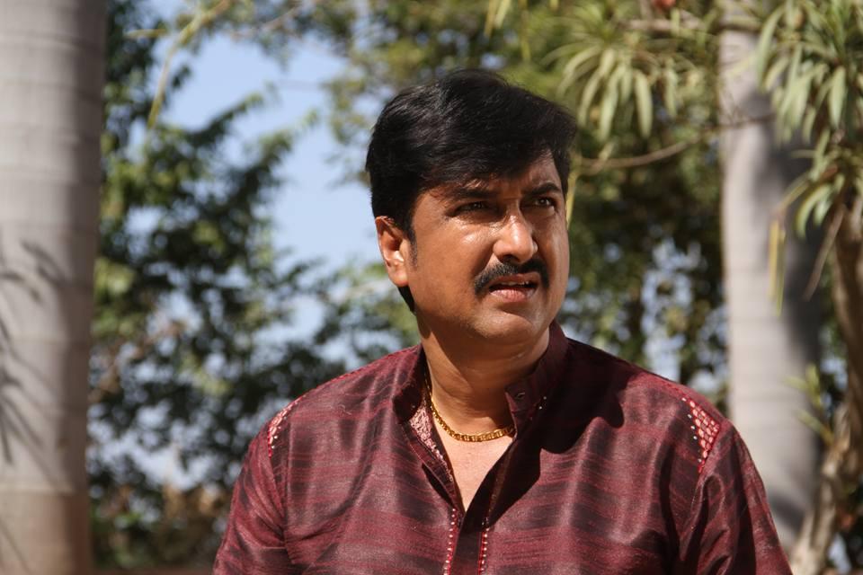 Sanjay Pandey ON Set of Dabang Aashiq Bhojpuri Film Shooting photo