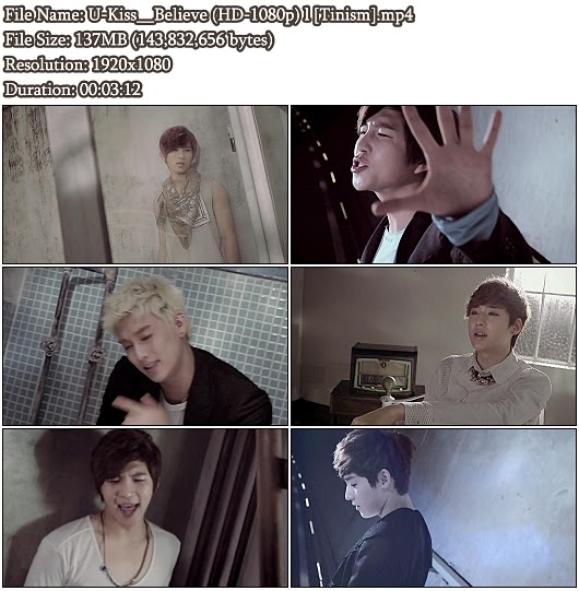 Download MV U-Kiss () - Believe (HD 1080p)