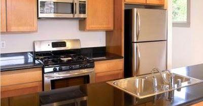 furniture interior: menghias dan mengatur dapur kecil