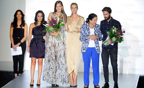 premio l'oreal pasarela madrid 2013
