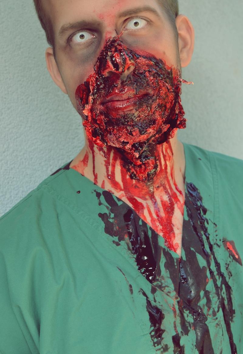 Halloween_Make_Up_Chirurg_Arzt_Zombie_Männer