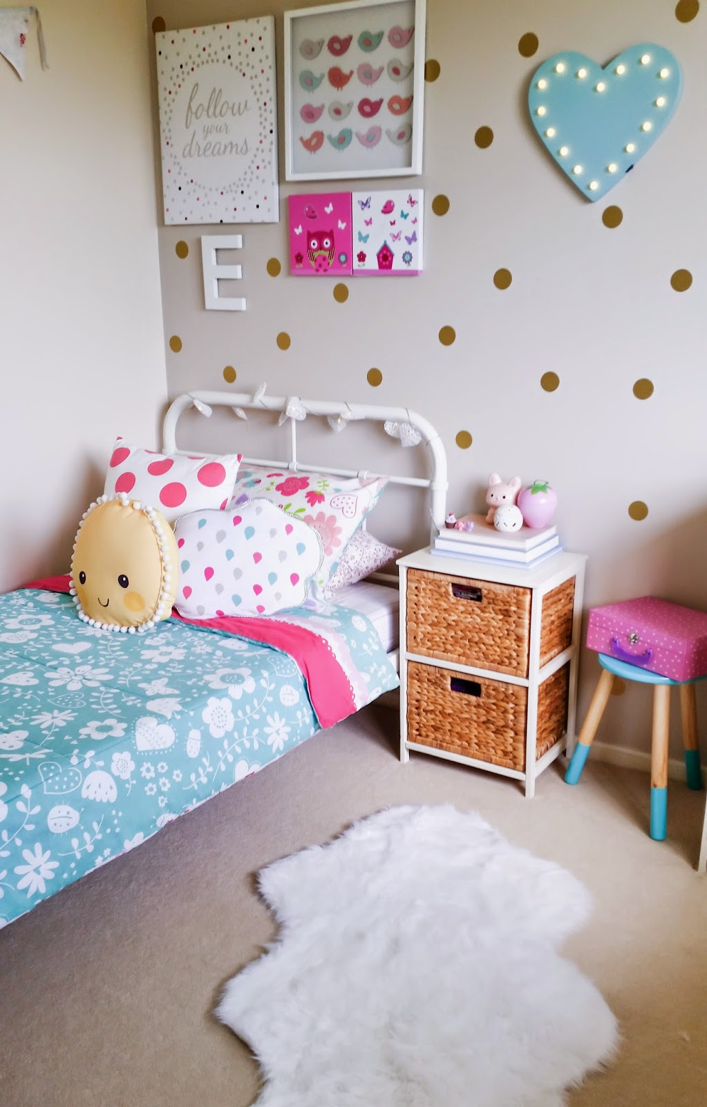 Organising me and mine bedroom love for Bedroom ideas kmart