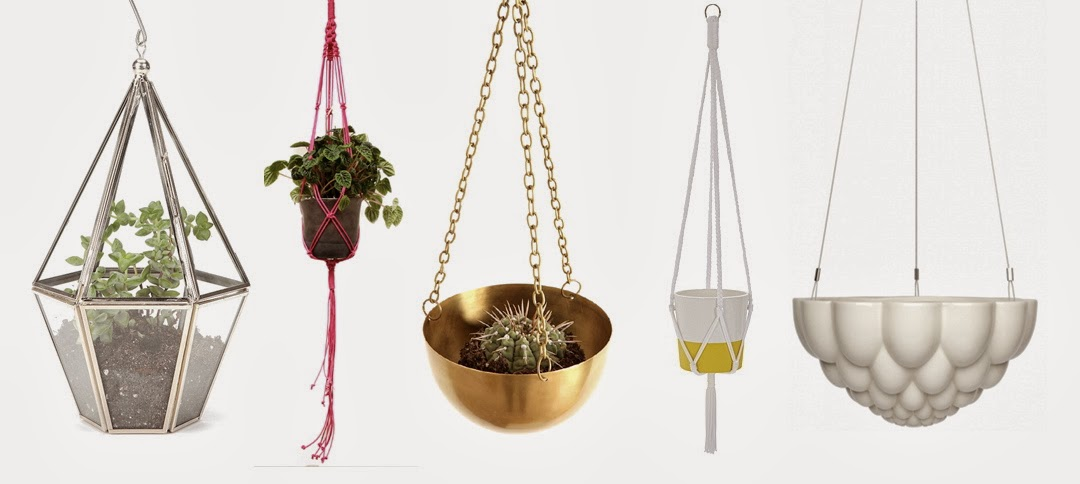 I recommend ferns, peace lily and english ivy for indoor hanging planters,  cacti and air plants are also great options for hanging terrariums. - DREAM INTERIORS - INDOOR HANGING PLANTERS Beau Monde Mama