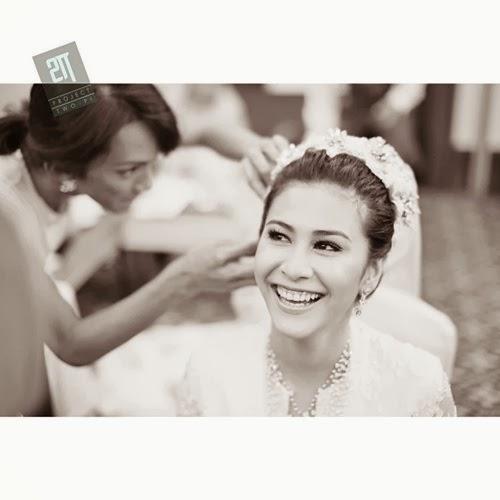 Lagi 26 Gambar Resepsi Perkahwinan Fouziah Gous Dan Zhafran