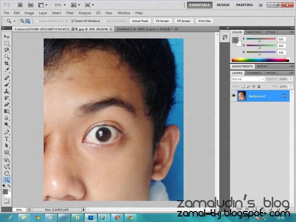 Cara Membuat Mata Sharingan Menggunakan Photoshop
