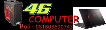 46 Computer Bali - Jual Komputer, Laptop & Aksesoris Murah di Bali