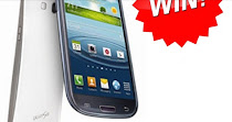 You can win a Samsung galaxy s4!