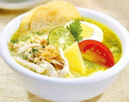 Resep Soto Ayam bumbu kuning super lezat