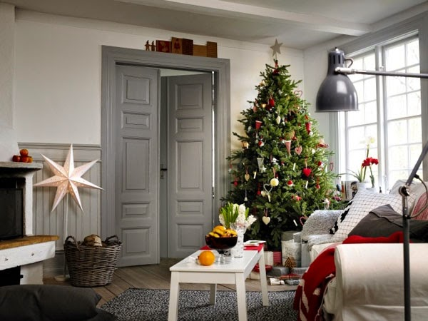 40 ideas de decoraci n navide a escandinava - Decoracion nordica escandinava ...