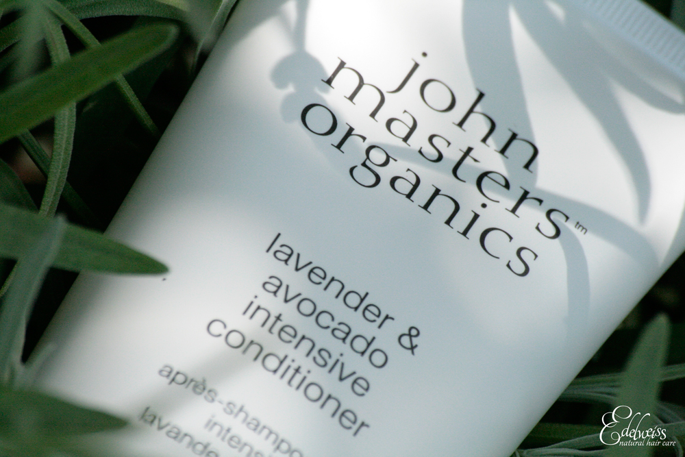 journal capillaire d 39 edelweiss revue john masters organics as lavande avocat. Black Bedroom Furniture Sets. Home Design Ideas