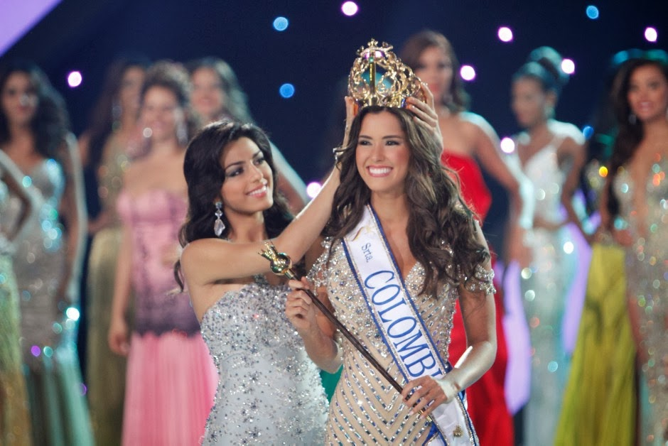 SASHES AND TIARAS..Señorita Colombia Miss Colombia 2014