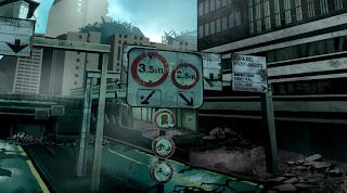 valencia, street, post apocalyptic, leolux, paint, sci fi,