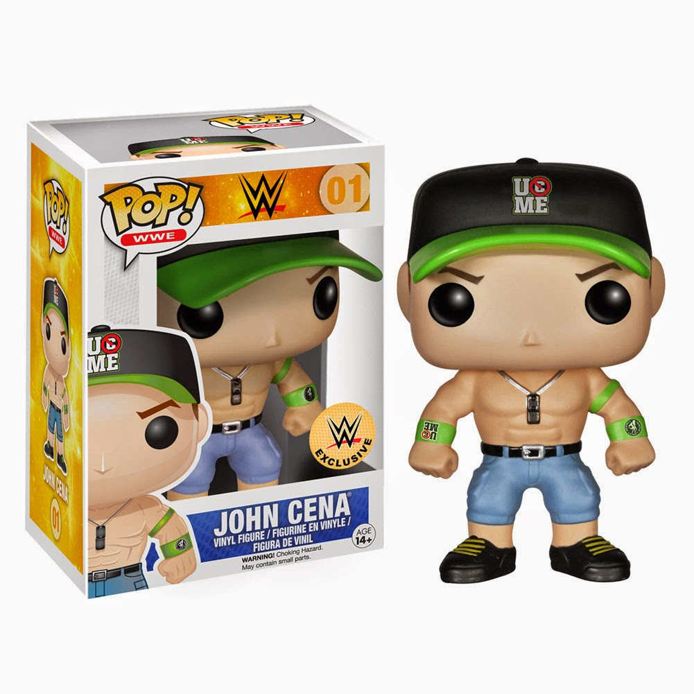 Funko Pop! JOHN CENA WWE exclusive