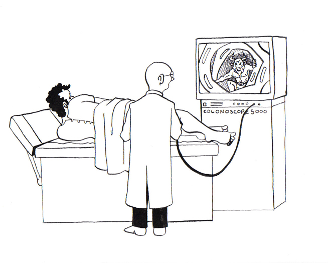 Image Funny Cartoons About Colonoscopy Download