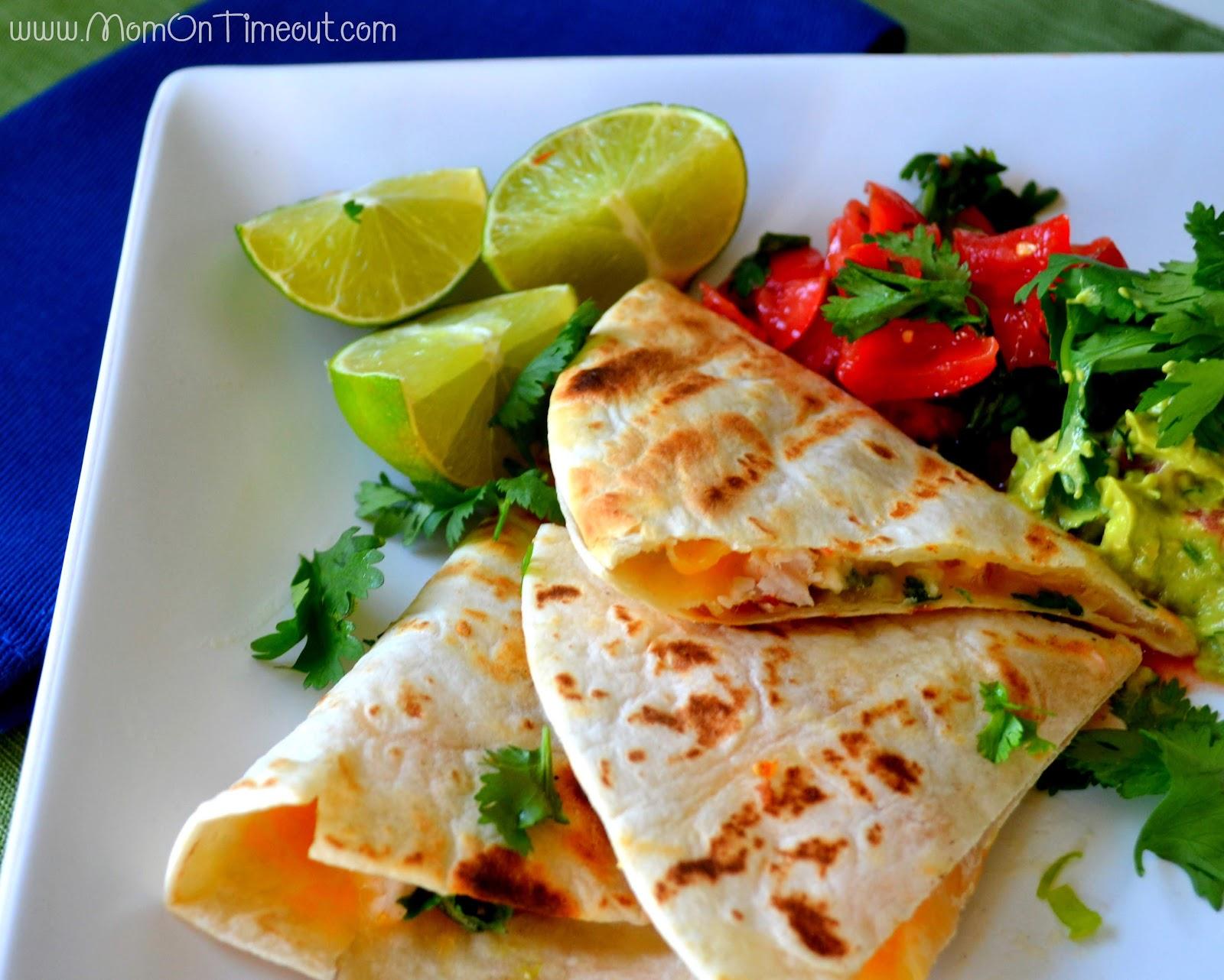 Grilled Shrimp Quesadillas Recipe