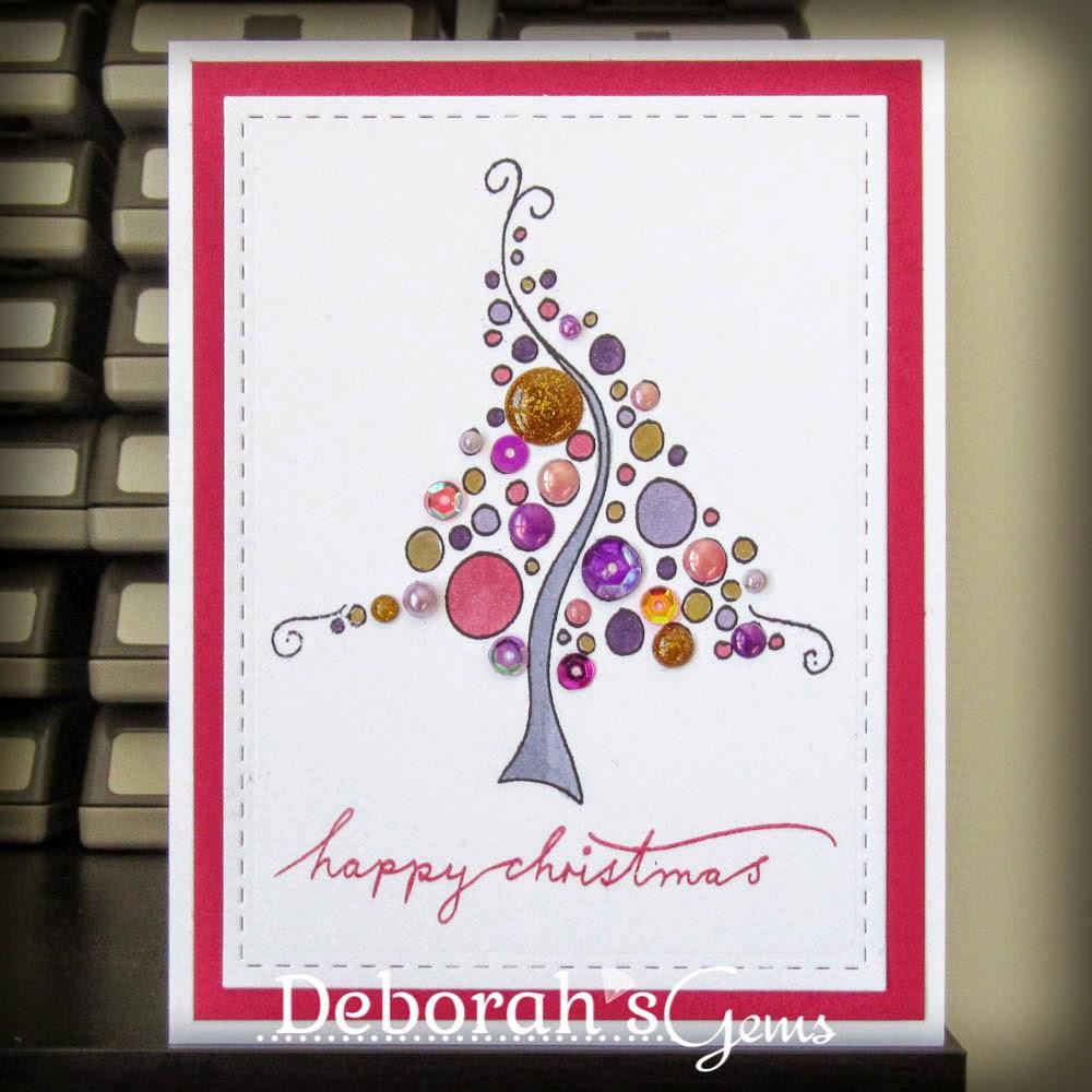 Happy Christmas Sq - photo by Deborah Frings - Deborah's Gems