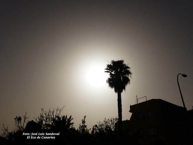 Vídeo fotos calima Gran canaria 26 diciembre